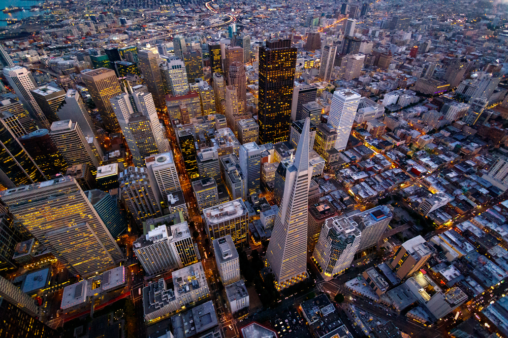 san-francisco-aerial view