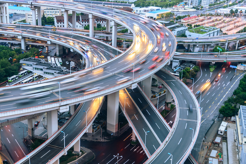 shanghai-elevated-road-junctio
