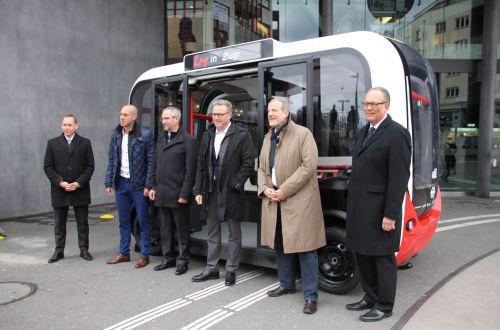SBB Shuttle self-driving car