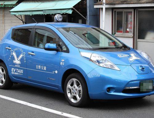 Nissan Leaf leads a global EV taxi revolution